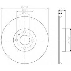 Disk kocioni prednji Stilo JTD-JURID/PAR