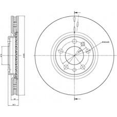 Disk kocioni prednji ALFA 159
