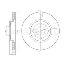 Disk kocioni prednji Stilo 1.6 16v/PAR