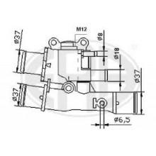 Termostat FIAT 1.6 16V 6590