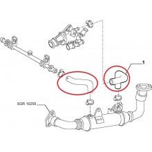 Crevo termostata Fiat JTD na grejacu EGR