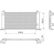 Hladnjak  Fiat Stilo 1.2/1.4/1.6 Benzin