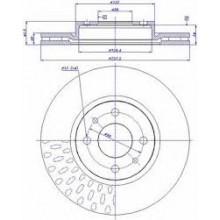 Disk kocioni prednji Punto JTD/PAR
