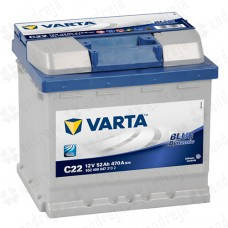 Akumulator  VARTA 52AH